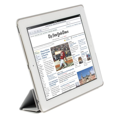 HornetTek Smart iPad 2 Cover Grey (AD3-001-GY)