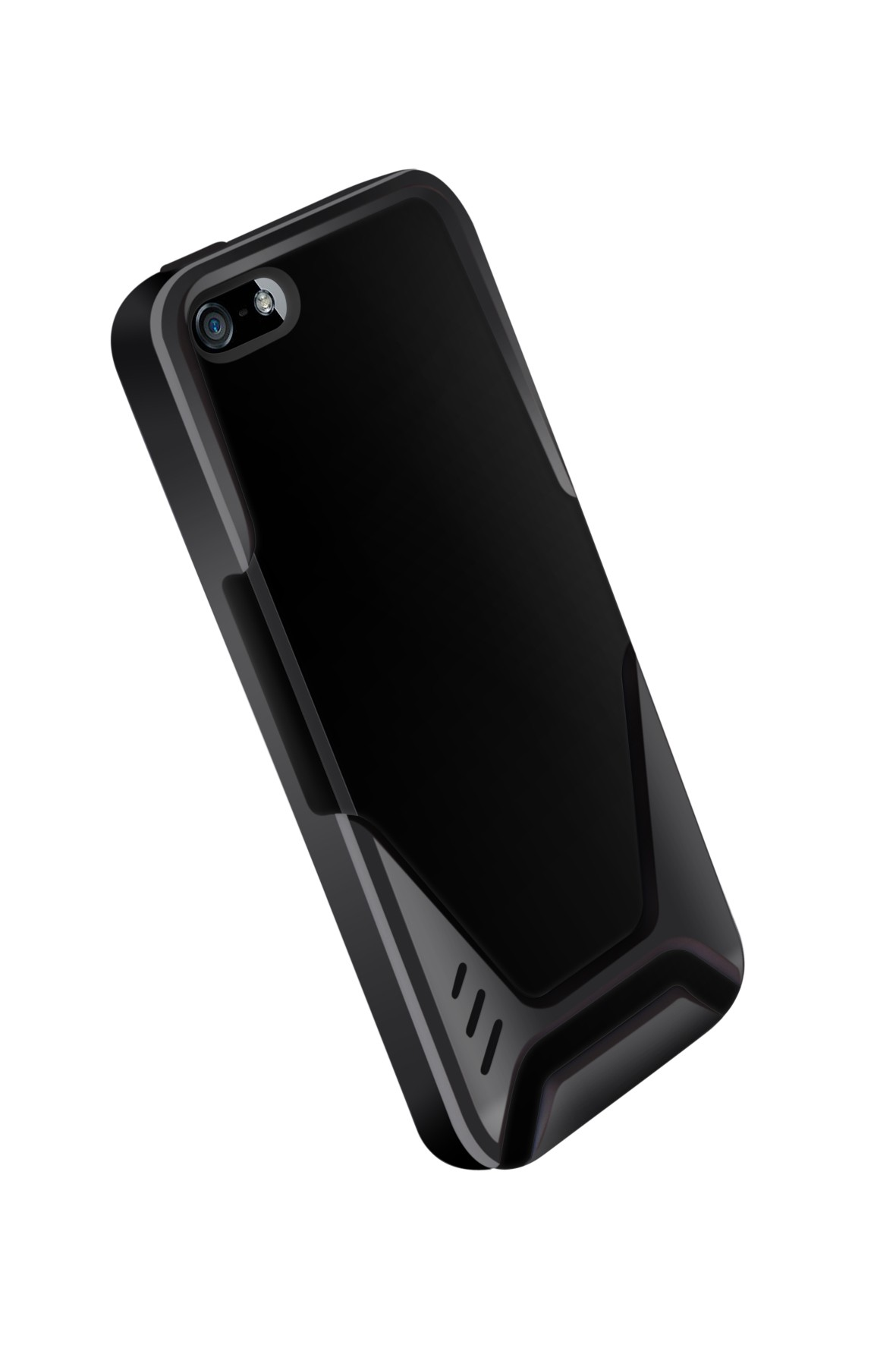 Ozone Visor Pro IPhone 5 Cover Black Grey HT IP5 02 BG