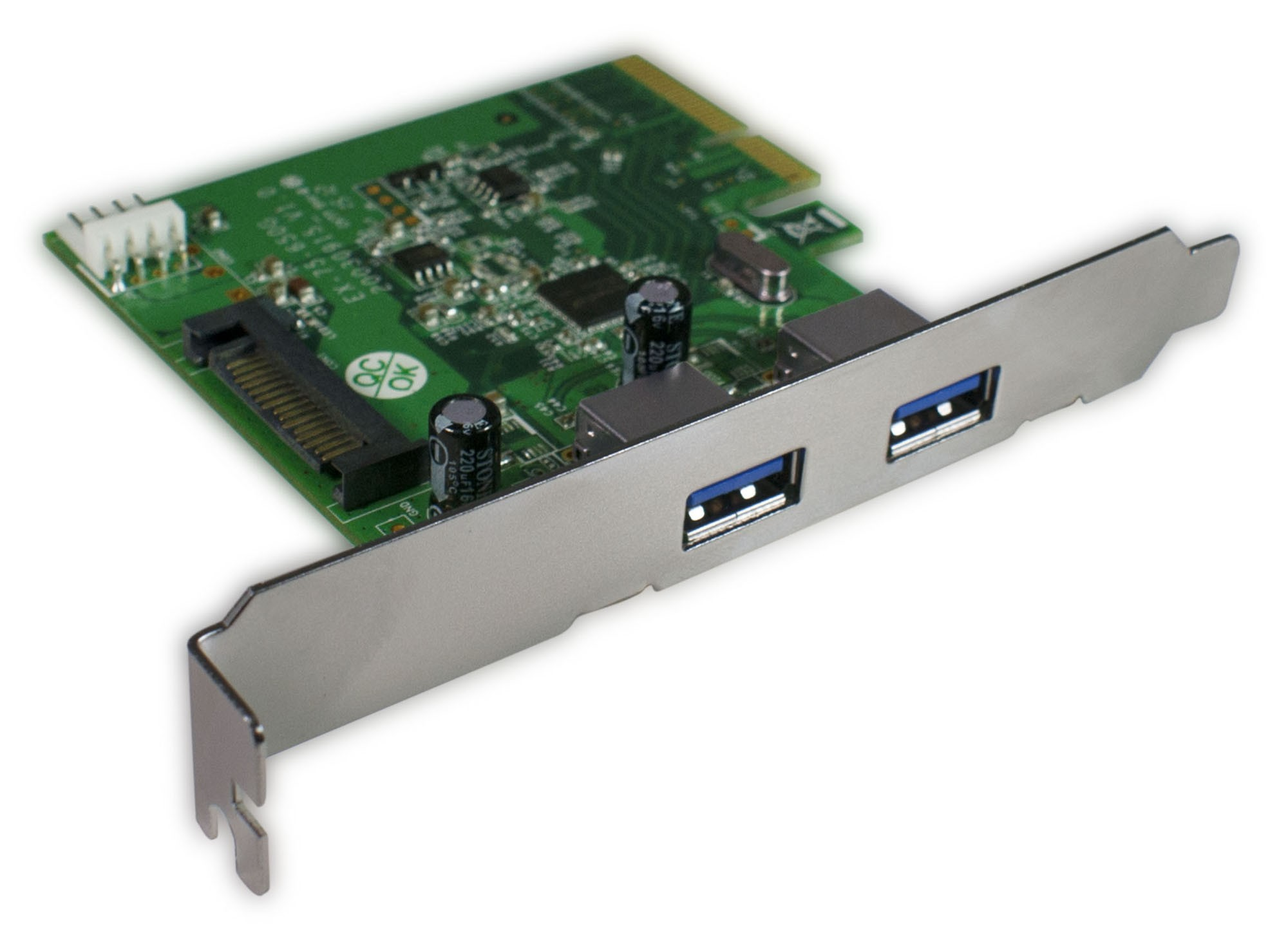 HornetTek Falcon USB 3.1 to PCIE Card Dual Type - A Ports 10 Gbps Max (HT-PCIEFAPA)