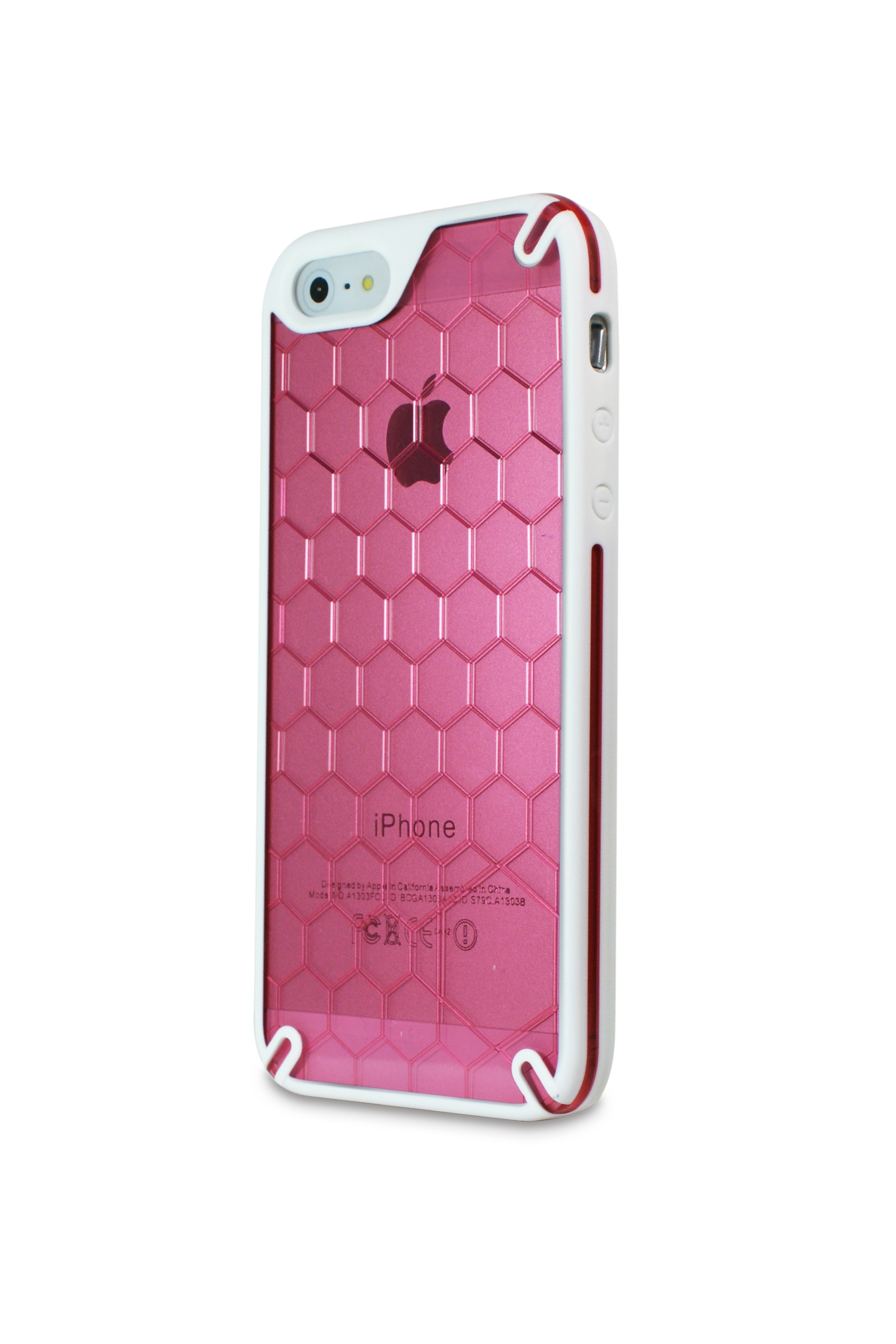 Ozone  Bee Hive iPhone 5 Cover Pink (HT-IP5-03-HP)