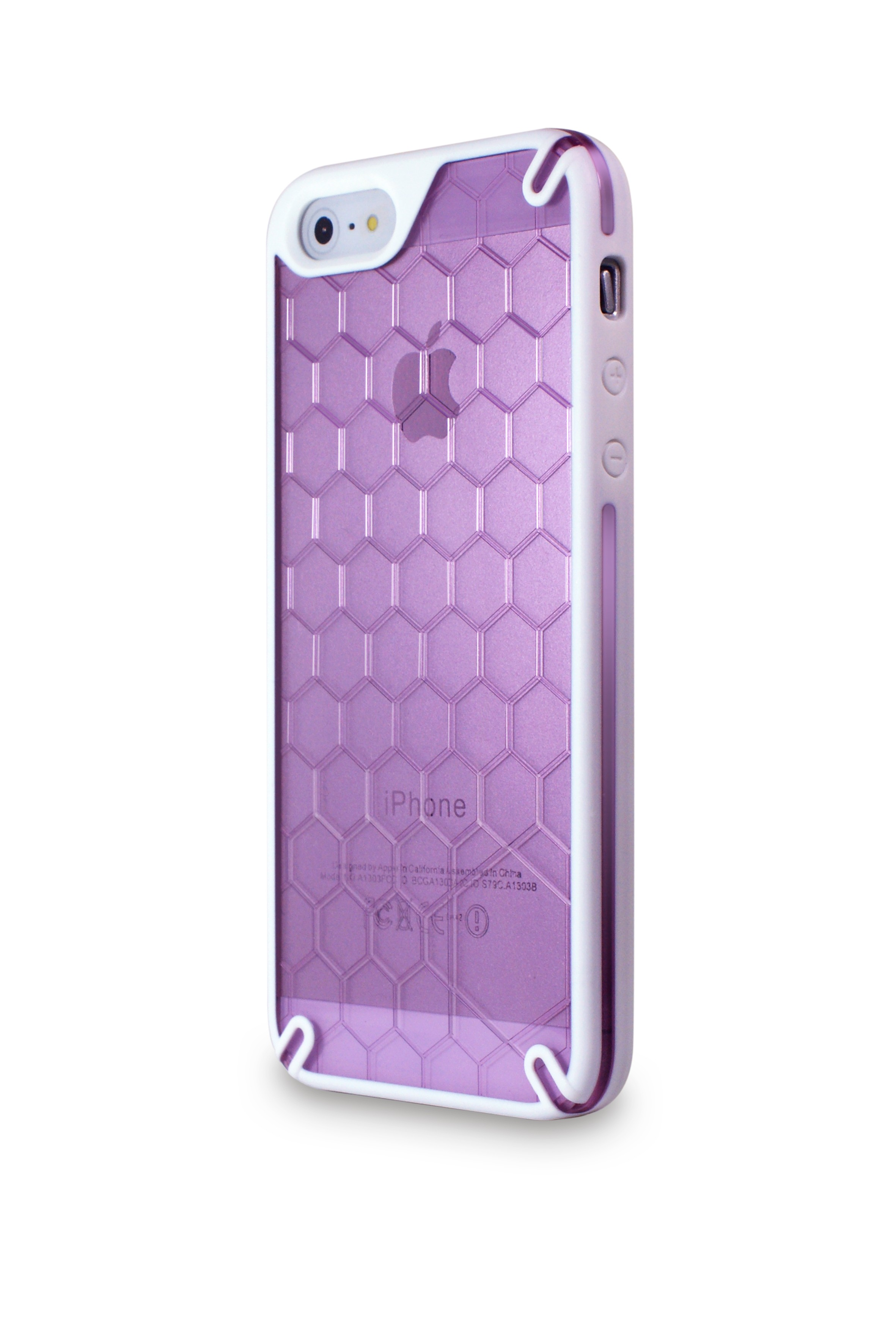 Ozone Bee Hive iPhone 5 Cover Purple (HT-IP5-03-PL)