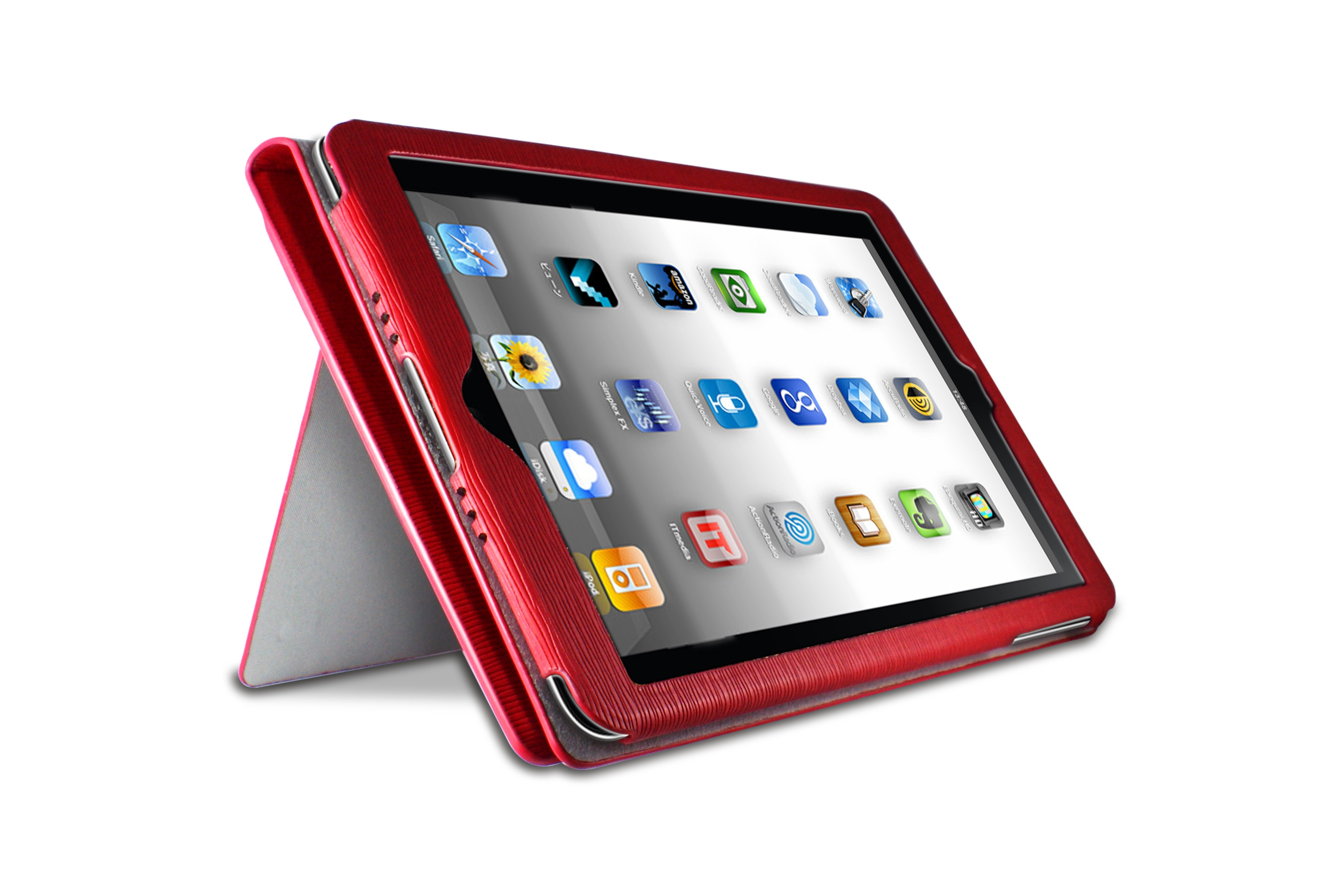 Ozone Atom iPad Mini Cover Red (HT-IPDM-01-RD)