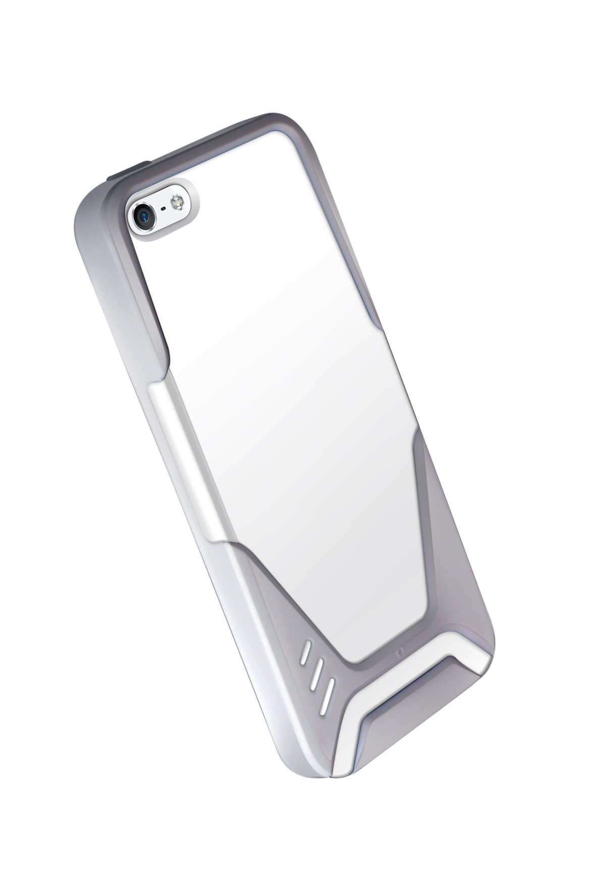 Ozone Visor Pro iPhone 5 Cover White Grey (HT-IP5-02-WG)