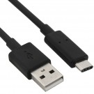 HornetTek USB 3.1 USB Type C USB-C (Male) to USB 3.0 Type A (Male) Charging Cable Black 3 Feet (HT-USBCCABLEAC-B)